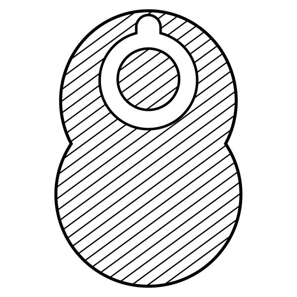 Stomocur® Soft Kolostomiebeutel CH 3445 CW Piktogramm