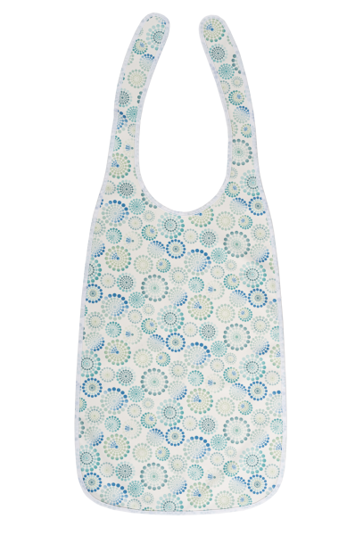 Suprima Ess-Schürze Polyester 5584 weiß-bedruckt 1 Stück Ansicht