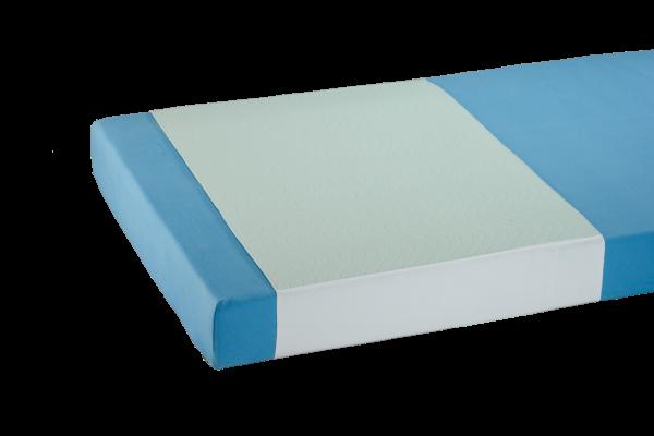 Suprima Mehrfach-Bettauflage 3112 mint weiß Bettschutz bezogen