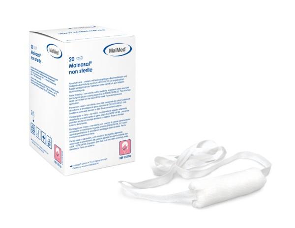 Mainasal® Nasenverband Nasenschleuder länge 7 cm ⌀ 3 cm Ansicht