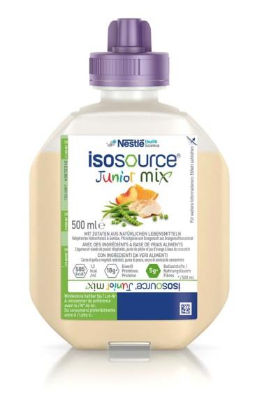 Isosource® Junior Mix Sondennahrung Trinknahrung 500 ml Ansicht