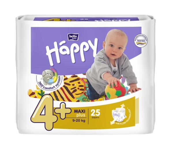 Bella Baby Happy Maxi Plus 4+ Windeln 25 Stück Verpackung