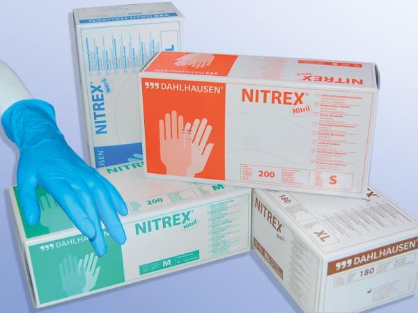 Dahlhausen Nitrex Einmal-Handschuhe hellblau 200 Stück Ansicht