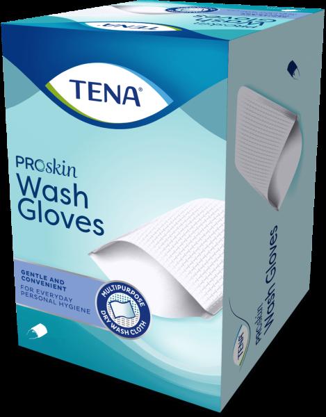 Tena Wash Glove Waschhandschuhe unfoliert 200 Stück Verpackung