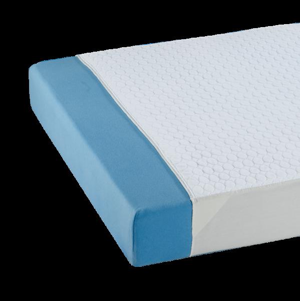 Suprima Mehrfach-Bettauflage 3100 weiß grau Bettschutz bezogen