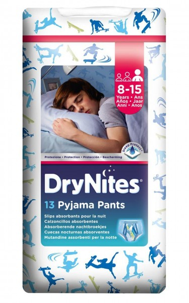 Huggies® DryNites® Pants 8-15 Jahre Jungen 13 Stück Verpackung