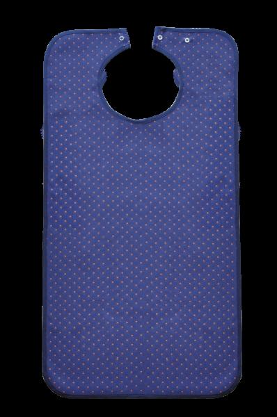 Suprima Ess-Schürze Polyester 5572 blau-gemustert Ansicht