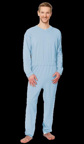 Suprima CareBasic Pflegeoverall 4688 hell-blau Damen Herren angezogen