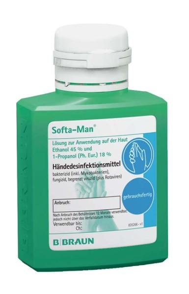 Softa-Man® Händedesinfektion 100 ml B. Braun Ansicht