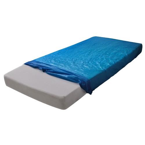 MaiMed® Mattress Cover blau bezogen