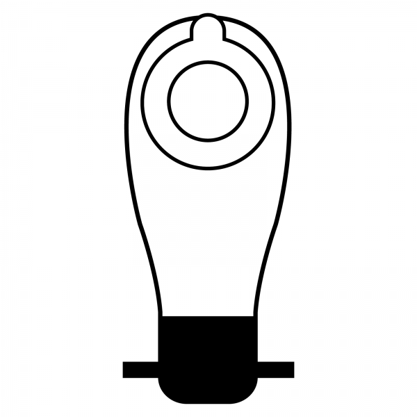 Stomocur® Soft Ileostomiebeutel small hautfarbend IM 3445 C Piktogramm