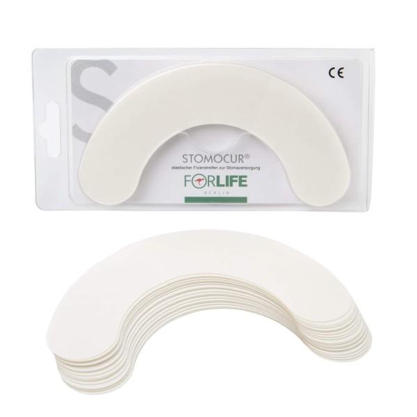 Stomocur® elastische Fixierstreifen FS20 20 Stück Ansicht