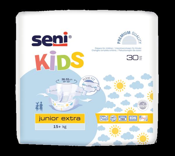 Seni Kids Junior Extra Windelhosen Kinder 30 Stück Verpackung
